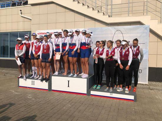 Воспитанники училища олимпийского резерва № 2 завоевали шесть медалей на Чемпионате России по гребле